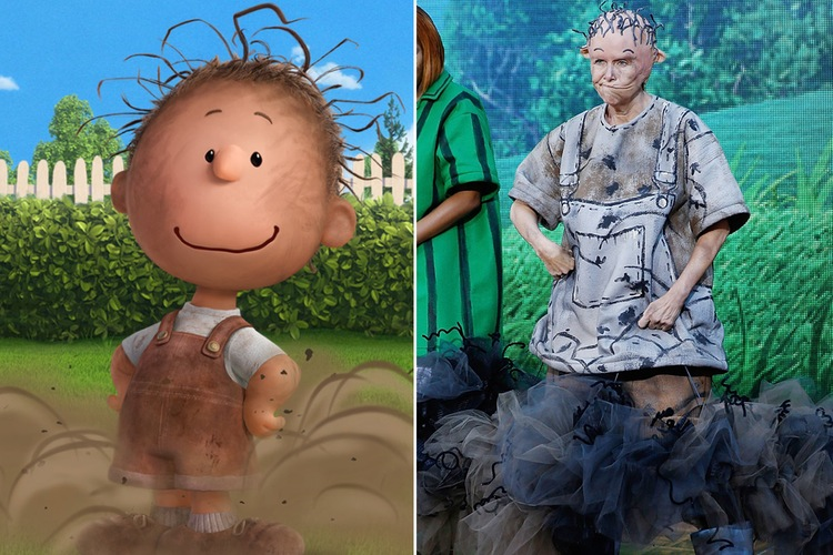 meredith viera today halloween peanuts pig pen