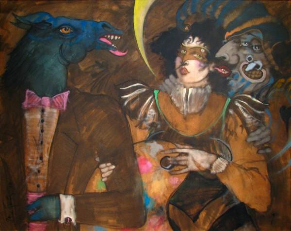 santiago_halloween_1990_oil-on-canvas